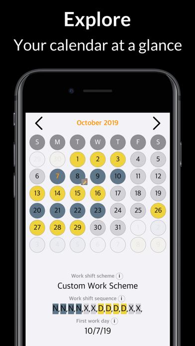 Rosta – My Shift Work Calendar screenshot three