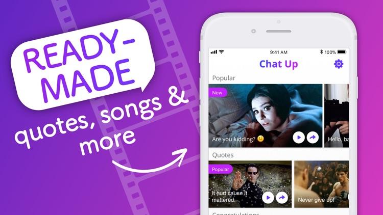 ChatUP - Text & emoji to video screenshot-4