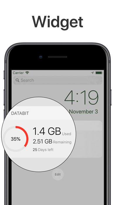 Databit: Data usage manager Screenshots