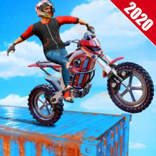 Crazy 3D Stunt Bike Rider 2020
