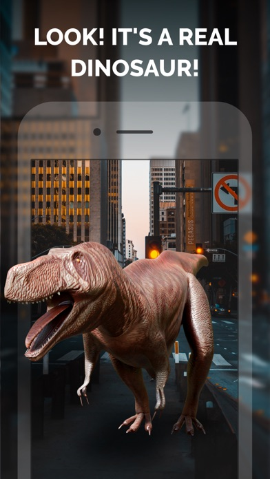 Dinosaurs in AR: Evolution screenshot one