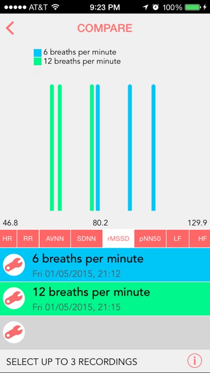 Camera Heart Rate Variability screenshot-3