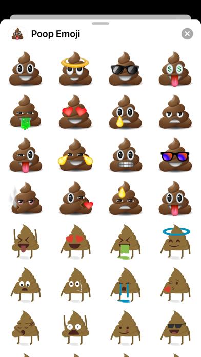 Poop Emoji Stickers - PRO HD Screenshot