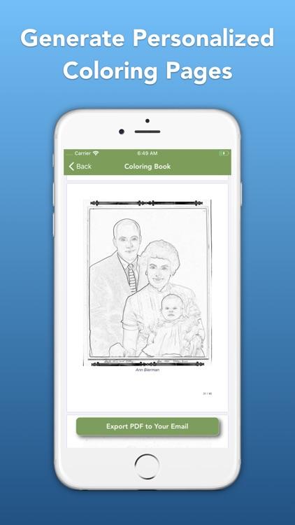 Memories Book Family History screenshot-4
