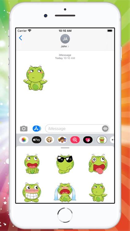 Little Frog Stickers screenshot-3