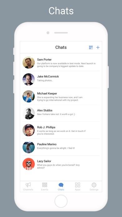 Screen Shot Community messenger 1