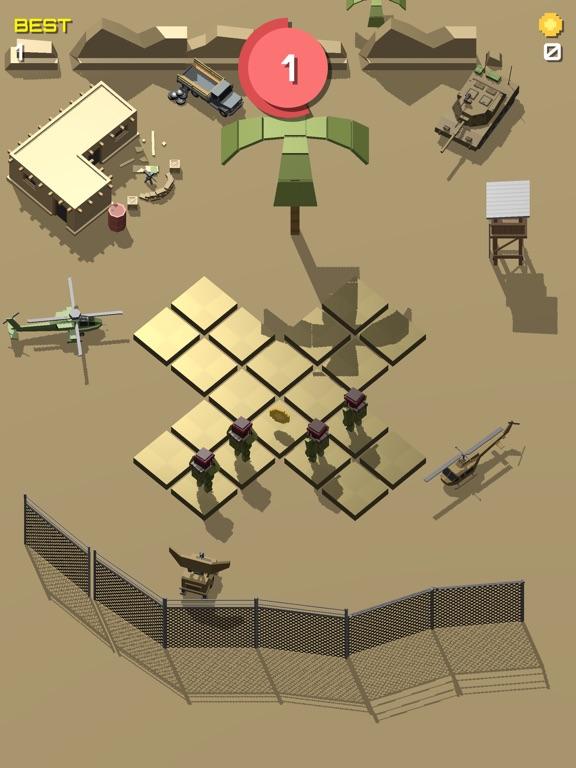 Pixel 3D - Soldier Gamesのおすすめ画像2