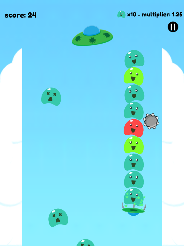 Blob Catcher, game for IOS