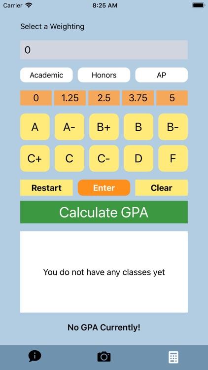 SBHS GPA Calculator screenshot-4