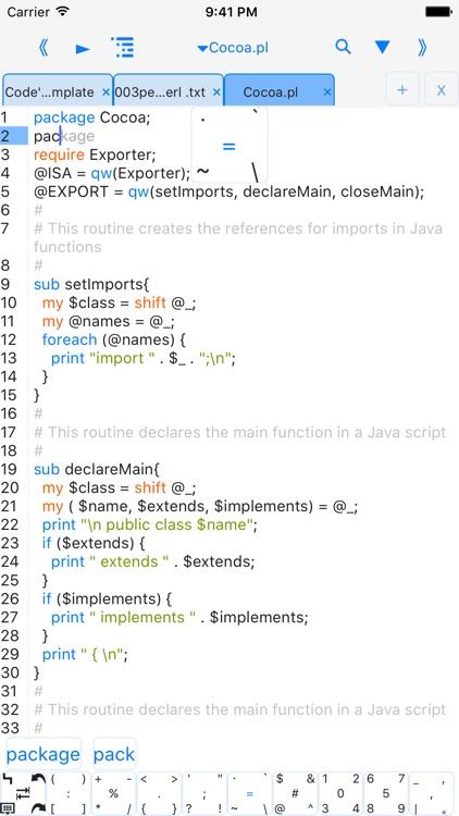 perli-run code,autocomplete,we