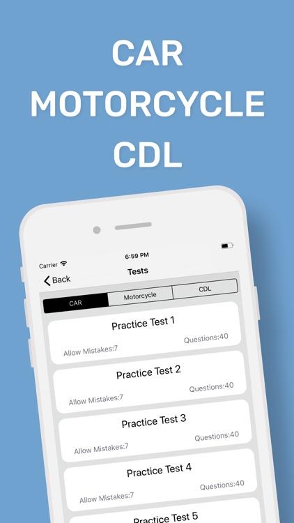 DMV CA Permit Practice Test