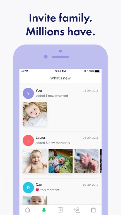 Lifecake Family & Baby Photos Screenshot