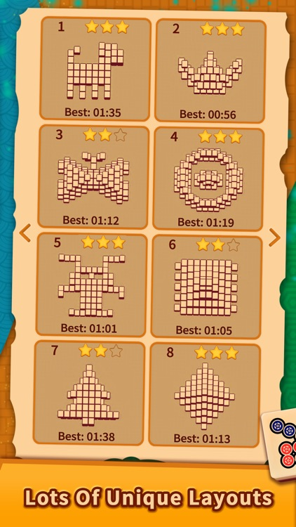 Mahjong Solitaire Puzzles