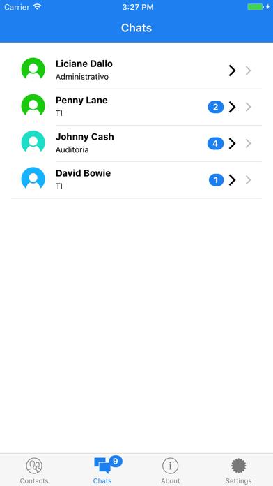 Screenshot of Chat Seguro6