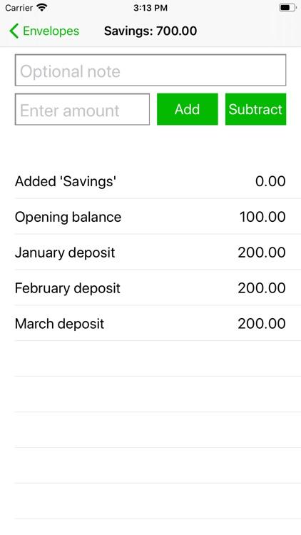 Simple Budget Envelopes screenshot-4