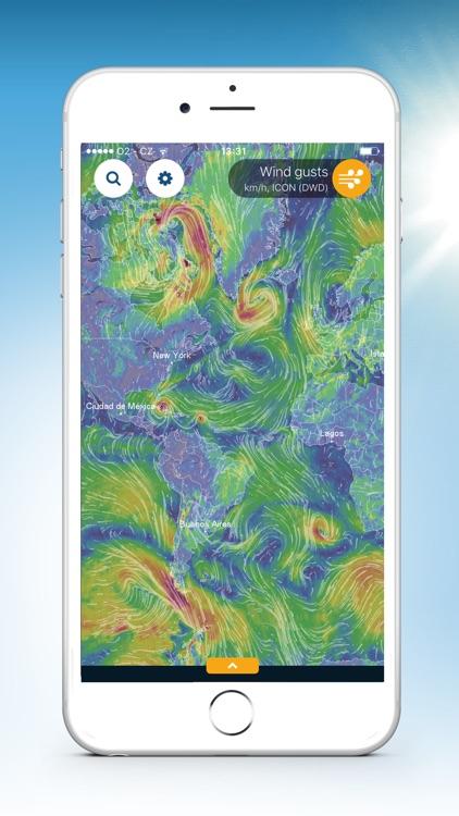 Ventusky: 3D Weather Maps screenshot-6