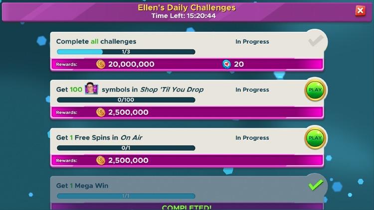 Ellen's Road to Riches Slots screenshot-8