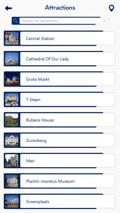 Antwerp City Guide screenshot three