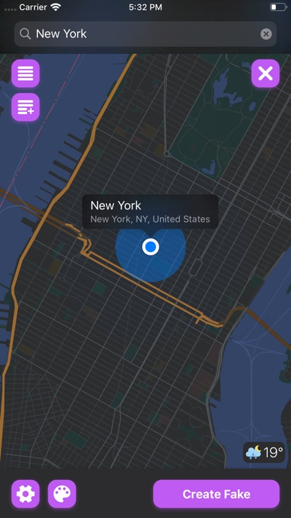 Faker 4 - Fake GPS Location screenshot-5