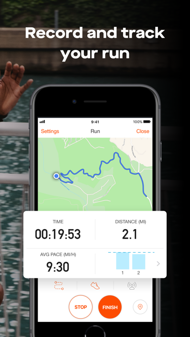 Screenshot for Strava: Run & Ride Training in Belgium App Store