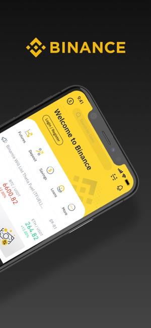 best cryptocurrency trading app binance app