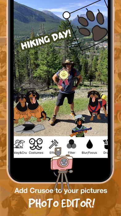 CrusoeMoji - Dachshund stickerのおすすめ画像5