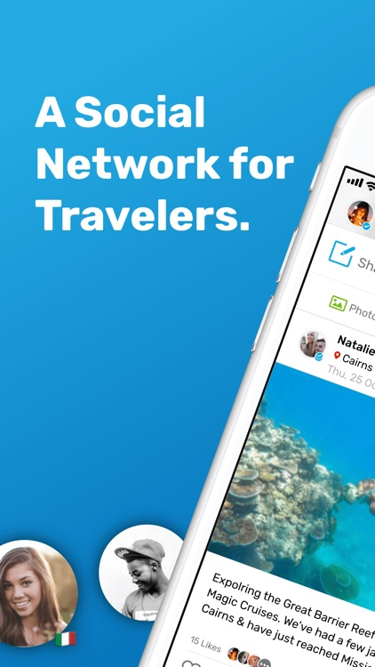Travello - Make Travel Social screenshot-0