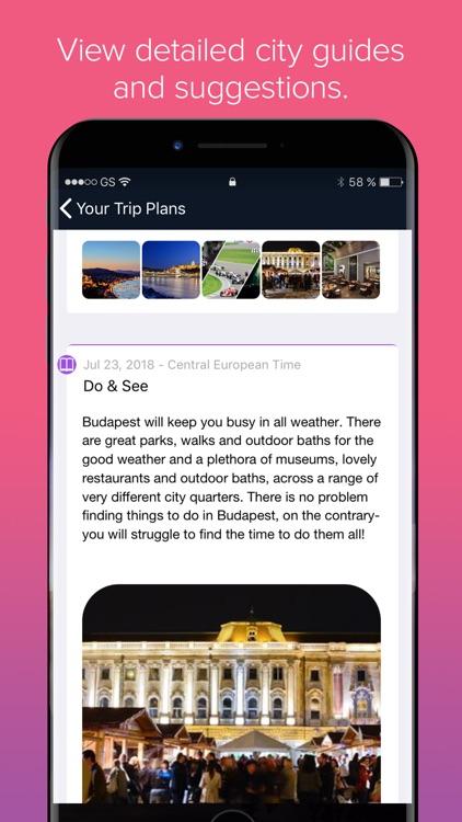 Trip Plans screenshot-4