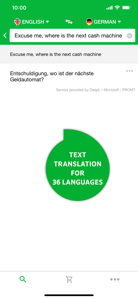 pons übersetzer text