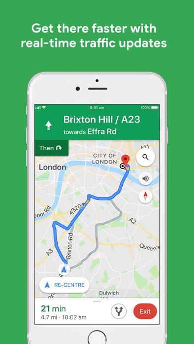 Unduh Google Maps - Transit & Food pada Pc