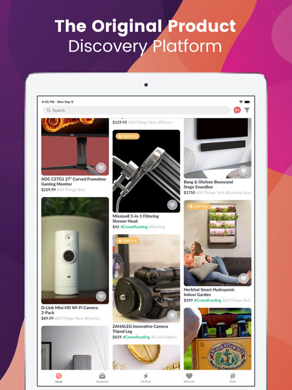 Gadget Flow - Discover, Save and Buy Awesome Products screenshot