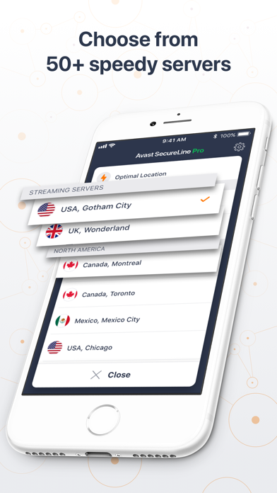 Avast SecureLine VPN Proxy app image