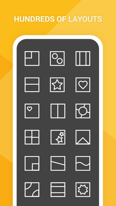 PhotoGrid Collage maker editor Screenshot