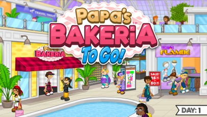 Papa's Bakeria To Go! screenshot 1