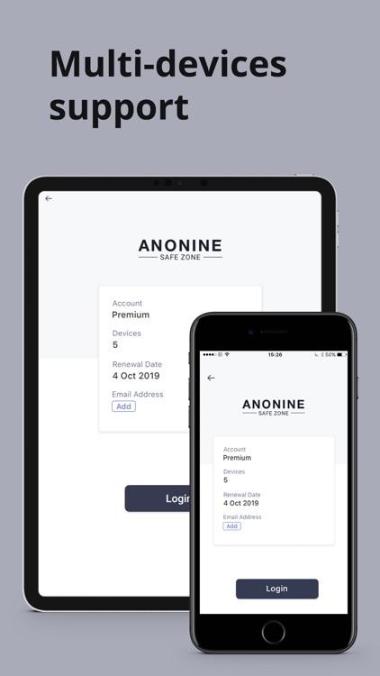 Anonine - Best VPN Service screenshot-4