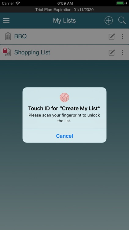 Create My List screenshot-5