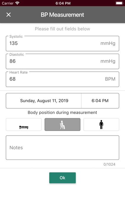 Sphygmo Home Blood Pressure screenshot-7