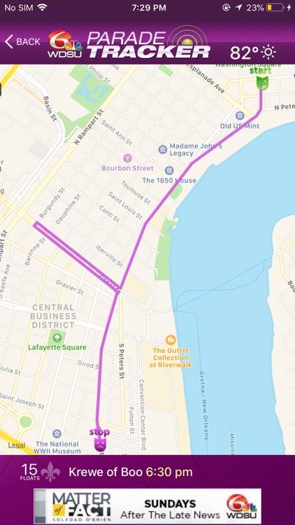 WDSU Parade Tracker screenshot-4