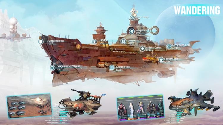 Ark of War:Galaxy Pirate Fleet screenshot-3