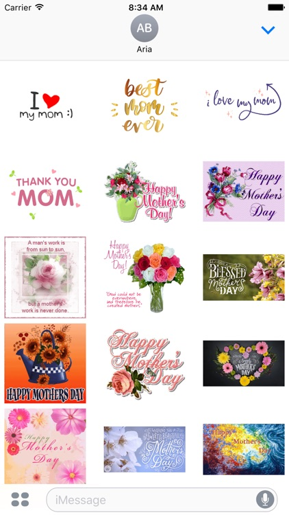 Animated Happy Mothers Day Gif