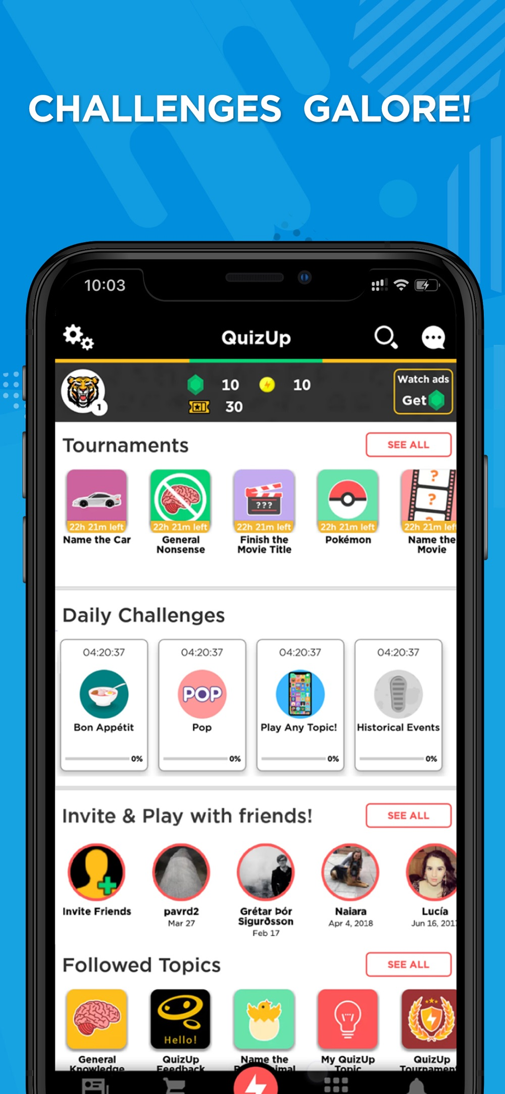 QuizUp® hack tool