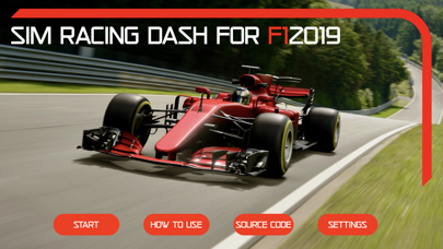 Sim Racing Dash for F1 2019 screenshot 1