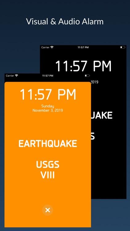 Seismometer - Earthquake Alarm screenshot-3