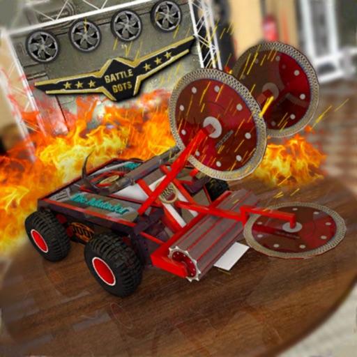 Robot Car Crash Battleship icon
