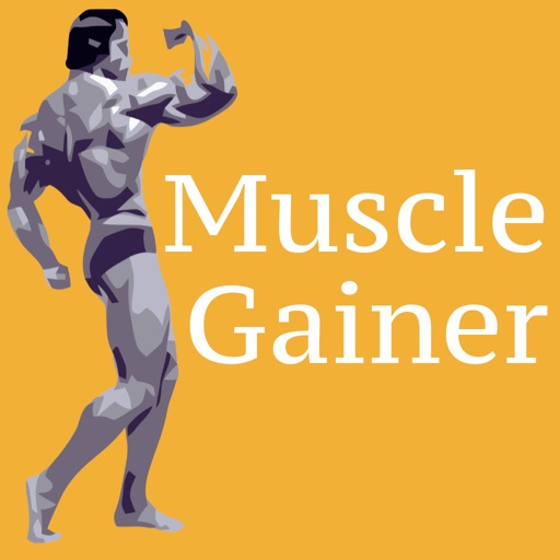 Muscle Gainer Full body plan icon
