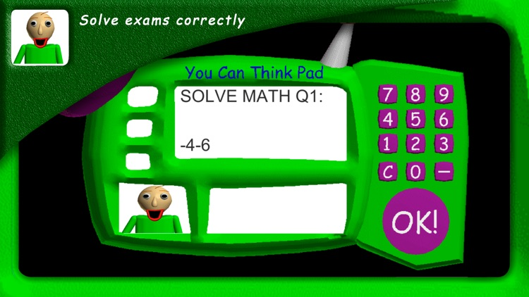 Baldis Basics Education School screenshot-3