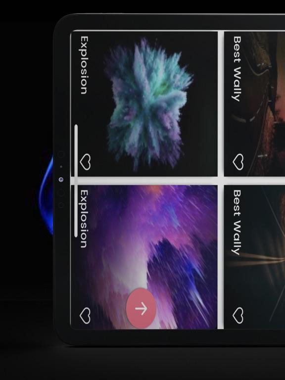 Wallpaper Explosion- 4k & Live screenshot #3