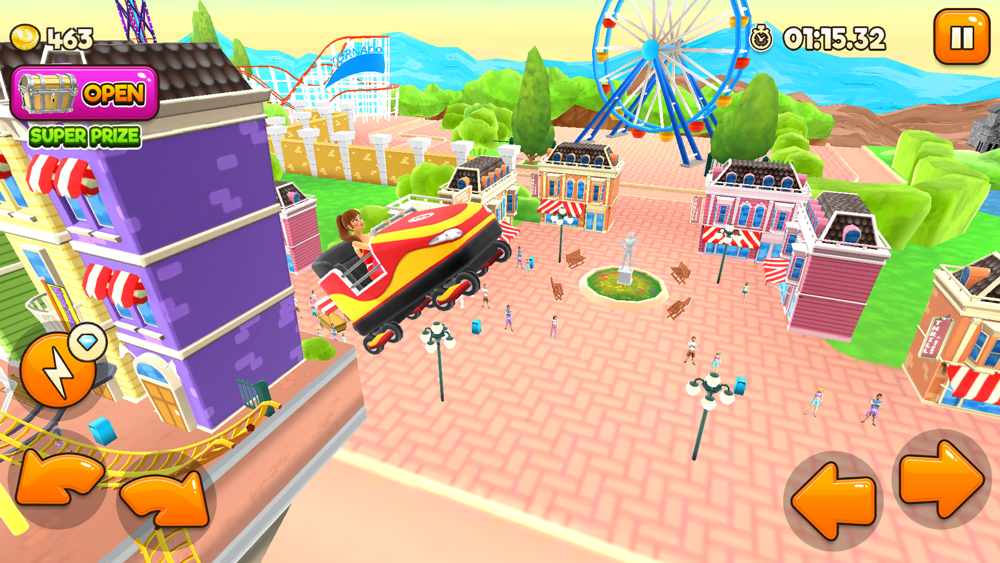 Thrill Rush Theme Park App for iPhone - Free Download Thrill Rush