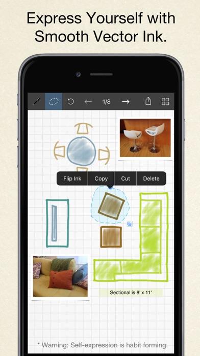 Inkflow Plus Visual Notebook screenshot three