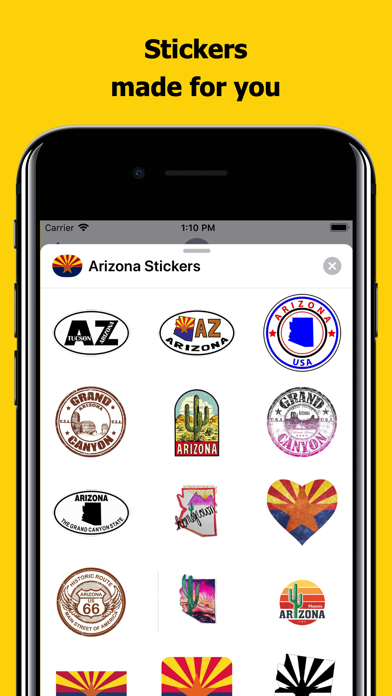Arizona emojis - USA stickers screenshot 1